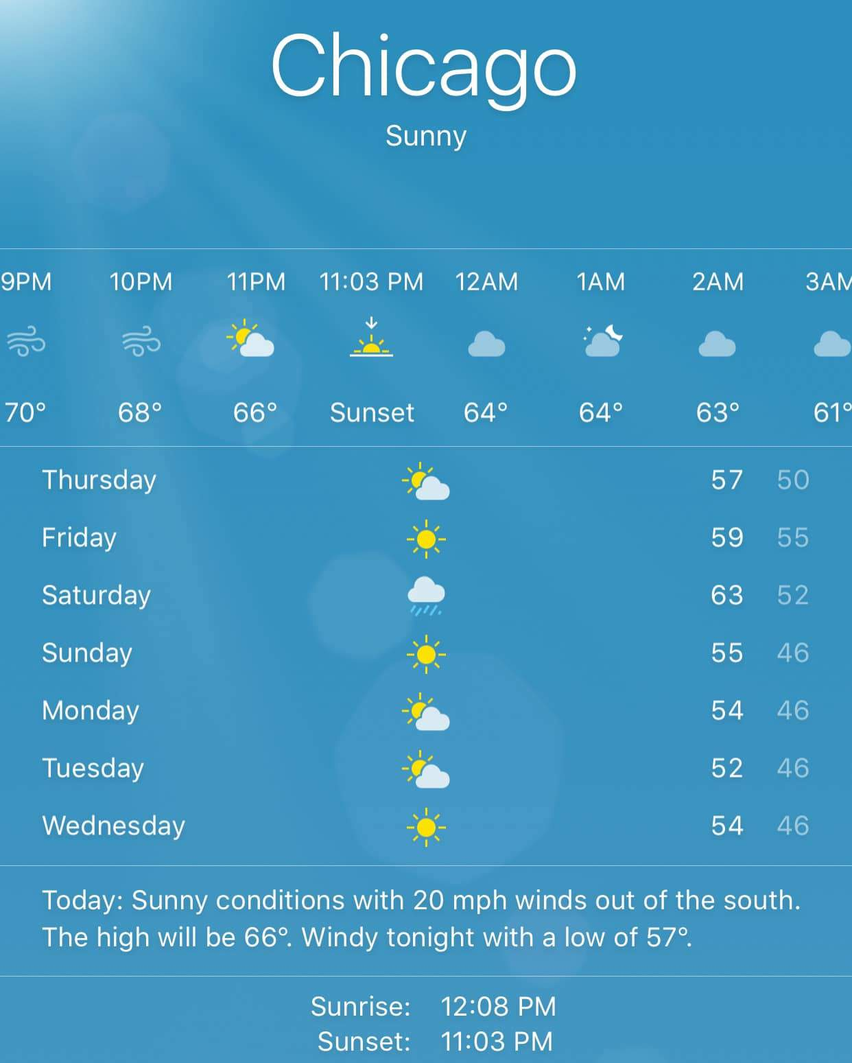 Problem with Apple Weather app on iOS - Scott Kleinberg