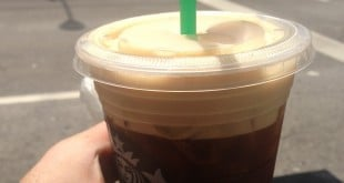 Starbucks orange spice iced coffee review